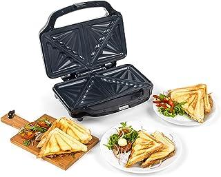 Progress® EK2017SP-VDE Deep Fill Large Sandwich Toaster with European Plug | 900 W | Non-Stick Plates | Cool Touch Handle...