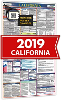 Osha4Less 2019 California All In One Labor Law Posters for Workplace Compliance