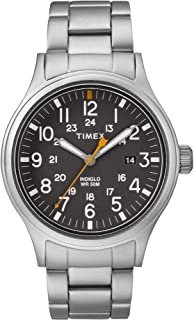 Allied Grey Dial Stainless Steel Men's Watch TW2R46600