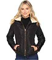 Brigitte Bailey Solo Jacket w/ Sherpa Lined Collar