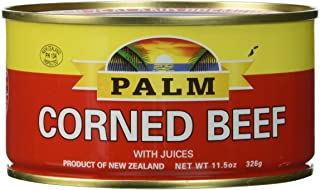 Palm Corned Beef – Premium Quality from New Zealand – 4 x 11.5 oz (326 g)