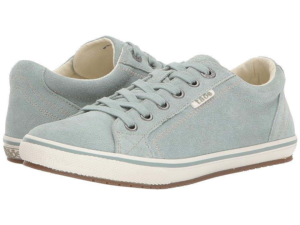 Taos Footwear Retro Star (Sage Suede) Women
