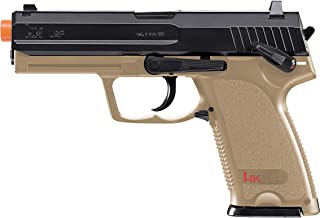 Elite Force HK Heckler & Koch USP CO2 Powered 6mm BB Pistol Airsoft Gun, Standard Action, Dark Earth Brown