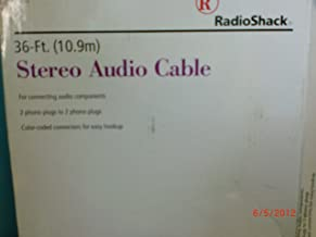 36 FT. STEREO AUDIO CABLE (10.9M)