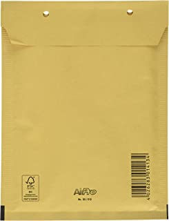pack of 50 envelopes PIGNA Padded air bubble envelopes 220 x 330 mm