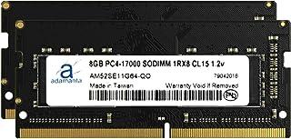 "Adamanta 16GB ( 2x 8gb )ノートPCメモリアップグレードfor Lenovo IdeaPad y70015"" ddr42133MHz pc4–17000SODIMM 1rx8cl151.2Vノートブ..."