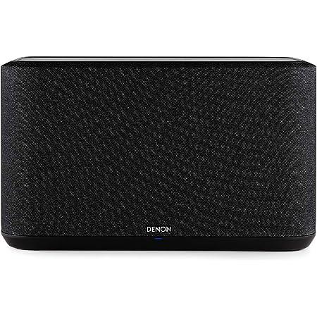 Denon Home 350 Multiroom Lautsprecher Hifi Lautsprecher Mit Heos Built In Wlan Bluetooth Usb Airplay 2 Hi Res Audio Alexa Kompatibel Schwarz Generalüberholt Audio Hifi