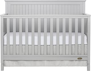 Dream On Me Alexa 5 in 1 Convertible Crib in Pebble Grey