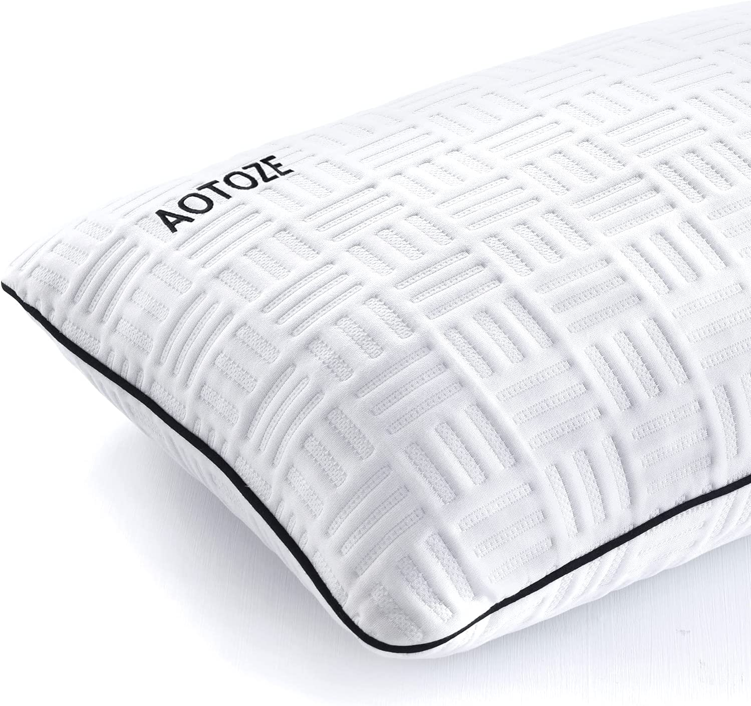 AOTOZE Shredded Memory Elegant Foam Pillow Bamboo with National products Adjustabl Cover