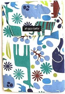 Ah Goo Baby Diaper Travel Pouch, Zoo Frenzy Pattern
