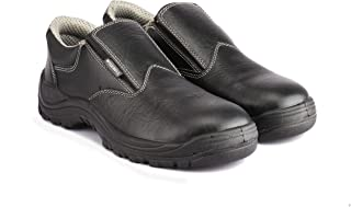 WILD BULL Safety Shoes for Men Polo Size (IND/UK 8 EU 42) Black