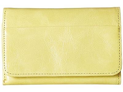 Hobo Jill Trifold Wallet (Lemongrass) Clutch Handbags