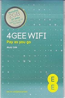 Europe (UK EE) 4G Mobile Broadband Data SIM preloaded with 2GB lasting 30 days FREE ROAMING / USE in Europe