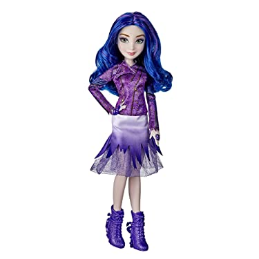 Disney Descendants Mal Doll, Inspired by Disney The Royal Wedding: A Descendants Story, Toy Includes Dress, Shoes, and Fashion Accessories