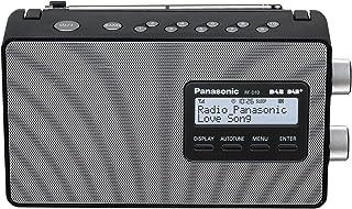 Panasonic Fm Tuner DAB+ Portable Radio, Black, (RF-D10GN-K)