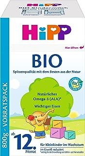 Hipp 喜宝Bio 婴幼儿奶粉(适用年龄:1岁+) 4盒装(4 x 800克)
