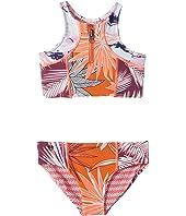 Tangerine Turtoise Bikini (Toddler/Little Kids/Big Kids)