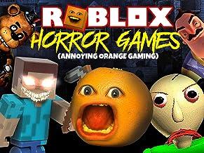 Clip: Roblox Horror Games (Annoying Orange Gaming)