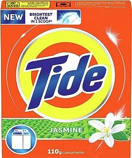 Tide Powder Laundry Detergent, Jasmine Scent, 110 G