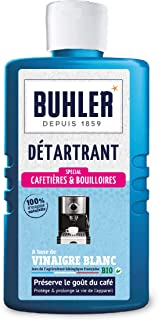 Buhler Détartrant Cafetières Flacon de 375 ml - Lot de 3