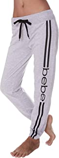 Womens French Terry Jogger Lounge Sleep Sweatpants Pajamas