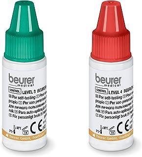 Beurer - Solución de control de glucemia (nivel 3 y 4, para GL 44 y GL 50)