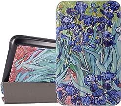 Galaxy Tab E Lite 7.0 Case - Tessday Slim Standing Shell Case for Samsung Galaxy Tab E lite SM-T113 / Tab 3 Lite 7.0 SM-T110 / SM-T111, Irises