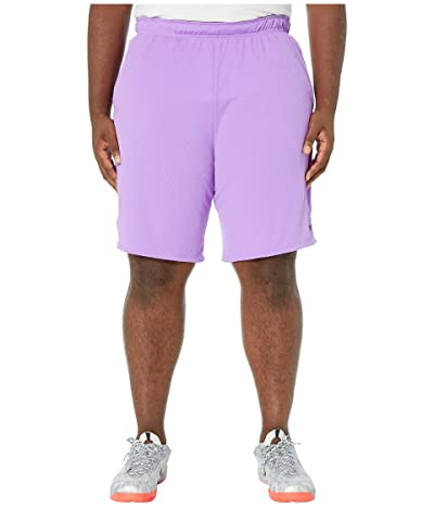 Nike Big Tall Dry Shorts 4.0 (Bright Violet/Black) Men