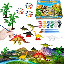 321OU Kids Crafts and Arts Set Painting Kit - Dinosaurs Toys Art and Craft Supplies Party Birthday Favors for Boys Girls A...