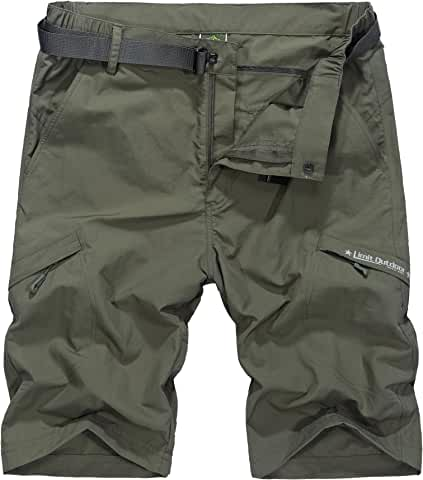 Vcansion Men&#39s Outdoor Lightweight Hiking Shorts