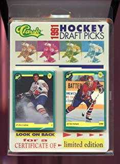 1991 Classic Hockey Card Draft Picks Complete Set Eric Lindros ROOKIE FACTORY