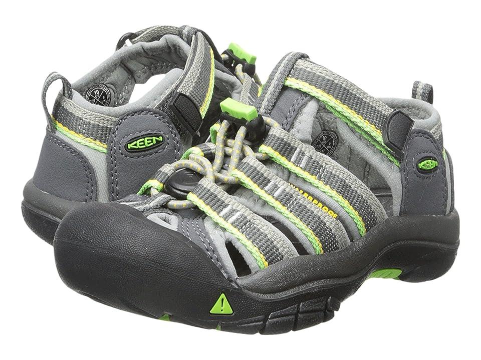 Keen Kids Newport H2 (Toddler/Little Kid) (Racer Gray) Boys Shoes
