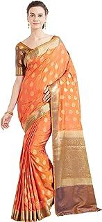 Viva N Diva Sarees for Women`s Banarasi Banarasi Art Silk Saree with Un-Stiched Blouse Piece,Free Size
