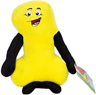 """Posable 10"""" Tall Plush Number 1 Puppet""""Doll"""" for Numeracy, Storytelling, and STEM Learning-email ribbon choice"""