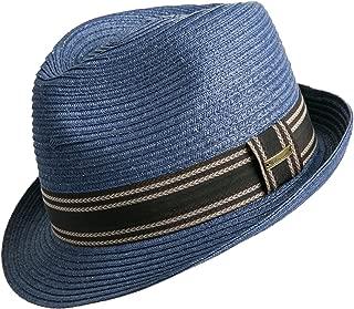 Unisex Fedora Straw Sun Hat Paper Summer Short Brim Beach Jazz Cap