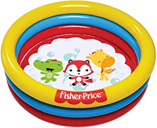 Bestway Fisherprice Ballpit Inflatable Playpool, Multi-Colour, 91 x 25, 93501