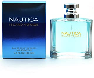 Nautica Island Voyage by Nautica for Men Eau De Toilette Spray 3.4-Ounce