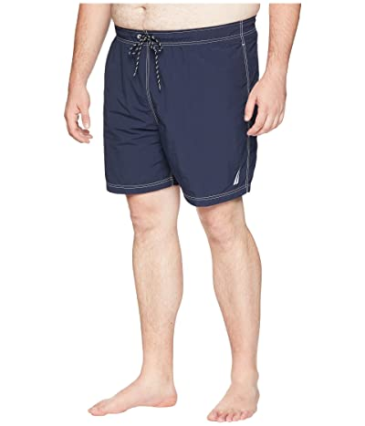 Nautica Big & Tall Big Tall Anchor Swim Trunk (Navy) Men