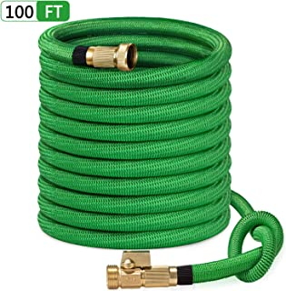 SunGreen 100ft Garden Hose, All New 2019 Expandable Water Hose with 3/4