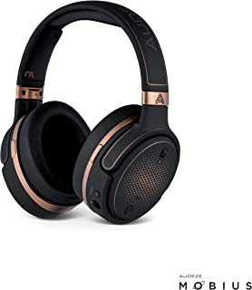 Audeze Mobius Premium 3D Gaming Headset with Surround Sound, Head Tracking and Bluetooth. Over-Ear Gaming Headphones Copper