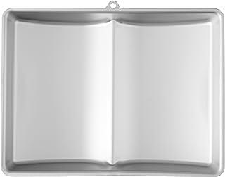 Wilton 3D Book Cake Tin, Large, Aluminium, 38.1 x 29.2 x 6.9 cm (15 x 11.5 x 2.75 in)