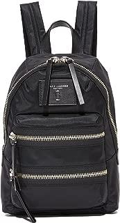 Marc Jacobs Women's Nylon Biker Mini Backpack, Black, One Size