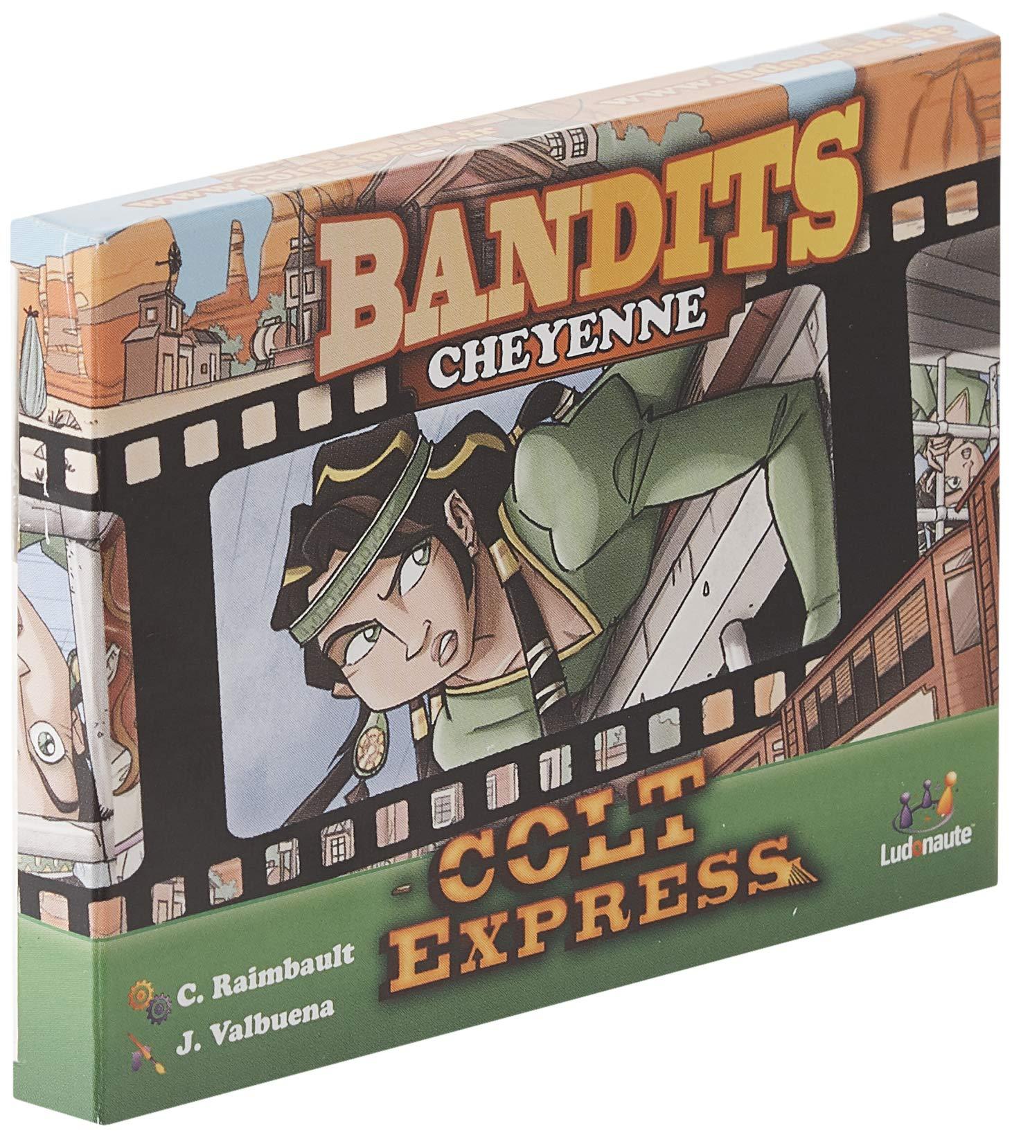 Asmodee- Colt Express: Bandits Pack Cheyenne Expansion en Castellano, Color (LUCOEX06NA): Amazon.es: Juguetes y juegos