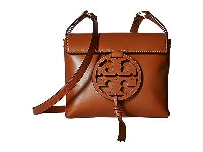 Tory Burch Miller Crossbody (Aged Camello) Cross Body Handbags
