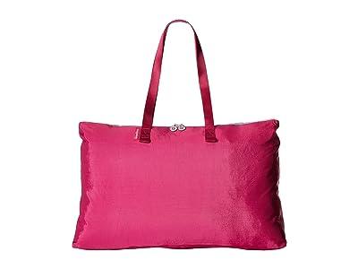Baggallini New Classic Foldable Travel Tote (Fuchsia/Pink) Tote Handbags
