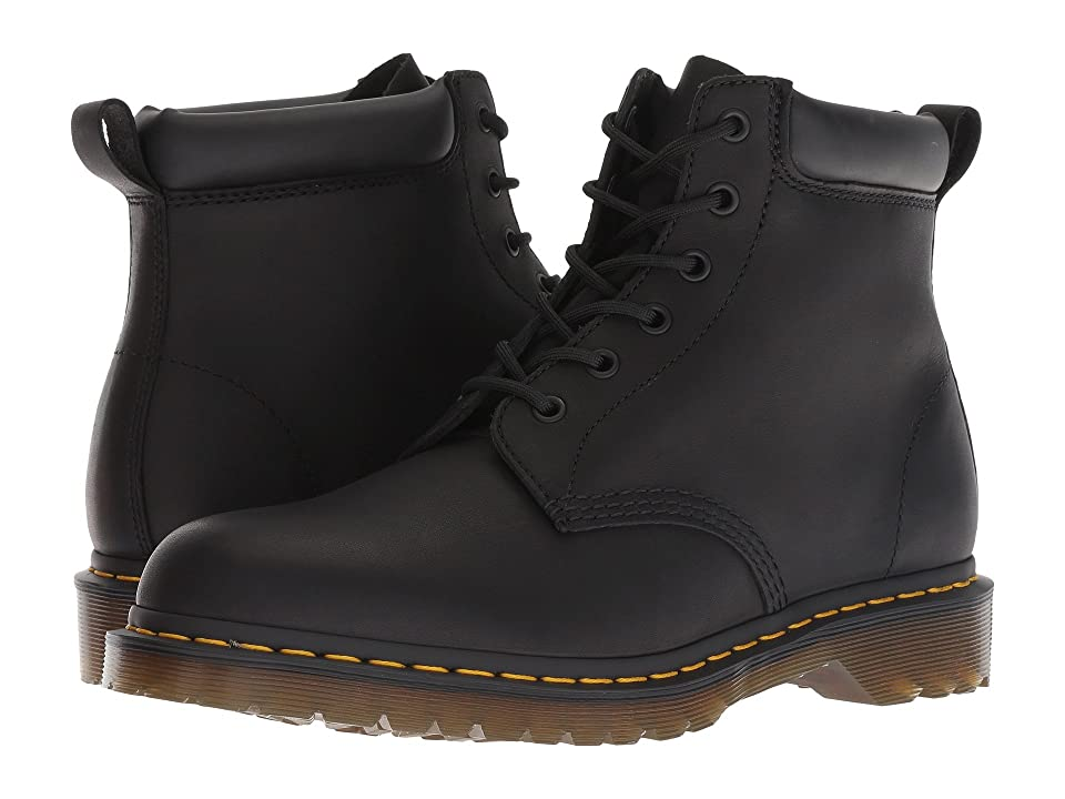 Dr. Martens 939 Ben Six-Eye Core (Black Greasy) Boots