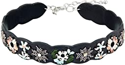 Rebecca Minkoff - Floral Embroidery Guitar Strap Choker