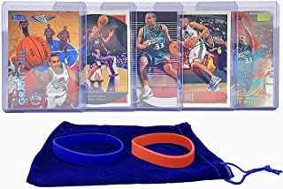 Grant Hill Basketball Cards Assorted (5) Bundle - Detroit Pistons Trading Card Gift Pack