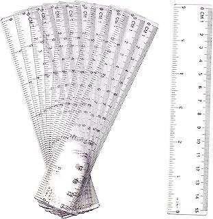 20cm Multifunction Flex Lineal Flachlineal Ruler Schule Büro Measuring NEU^