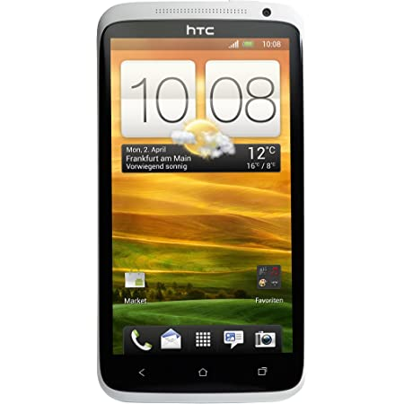 HTC ONE X Smartphone (11,9 cm (4,7 Zoll) LCD-Touchscreen, 8 Megapixel Kamera, Android OS) weiß